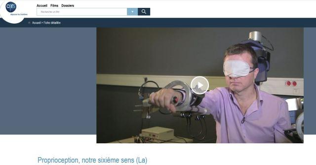 proprioception CNRS