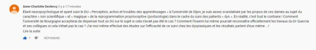 commentaire anne Charlotte