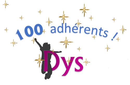 100 adhérents